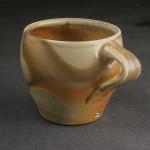 Mug, stoneware, natural ash